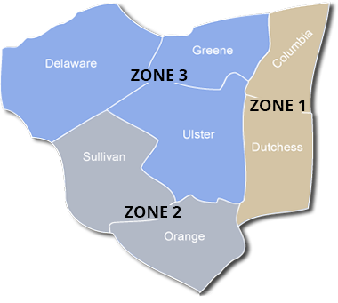 service area zone pricing